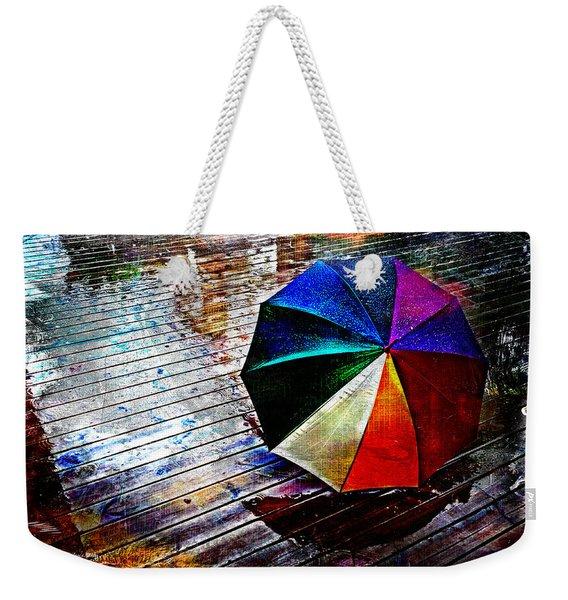 It's Raining Again Weekender Tote Bag