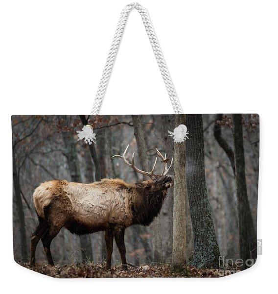 It's Snowing Weekender Tote Bag