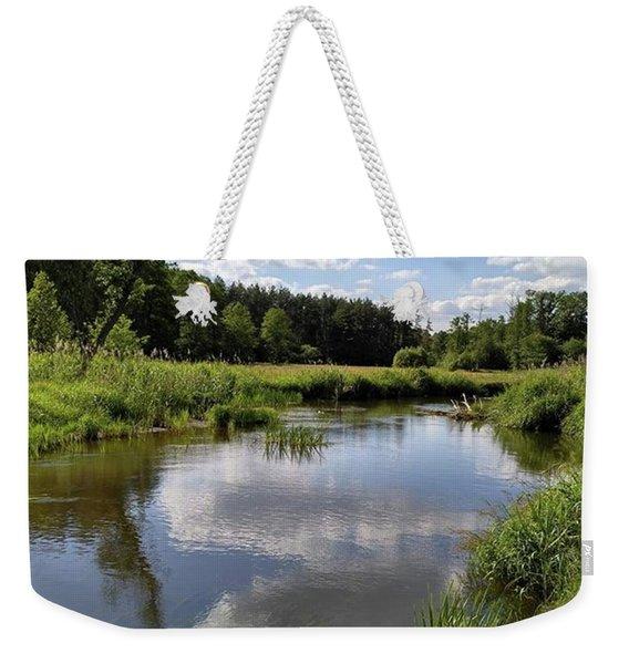 It's So Calming Here In Odrzywol Weekender Tote Bag