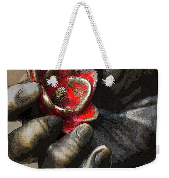 Ivan's Hand Weekender Tote Bag