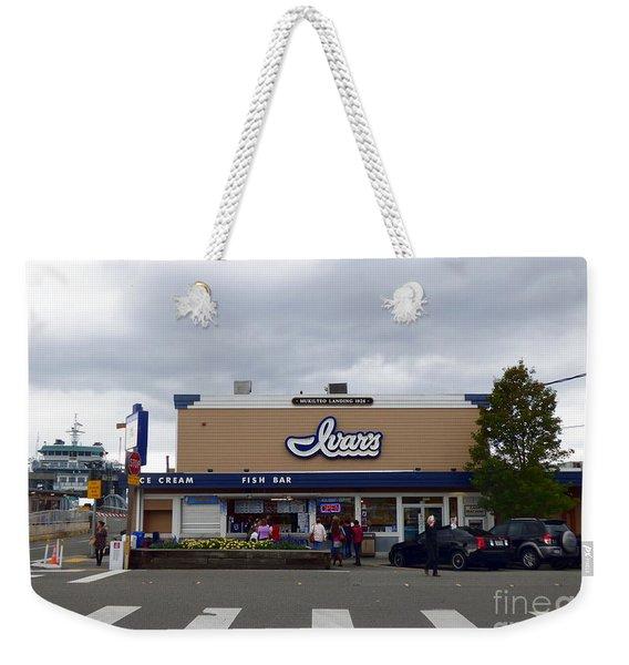 Ivar's At Mukilteo Landing Weekender Tote Bag
