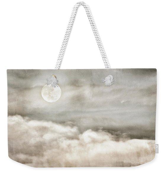 Ivory Moon Weekender Tote Bag