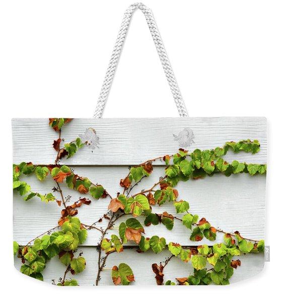 Ivy And Siding Weekender Tote Bag