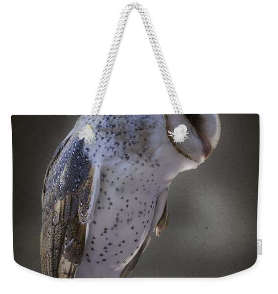 Ivy The Barn Owl Weekender Tote Bag