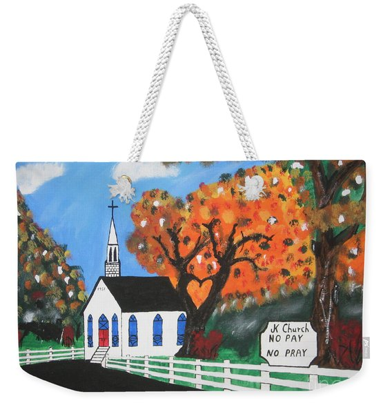 J K Church Weekender Tote Bag