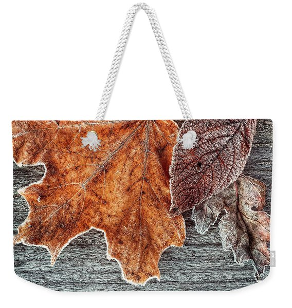 Jack Frost's Touch Weekender Tote Bag