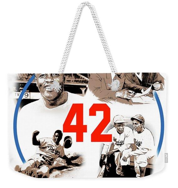 Jackie 42 Weekender Tote Bag