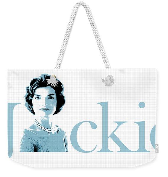 Jackie Weekender Tote Bag
