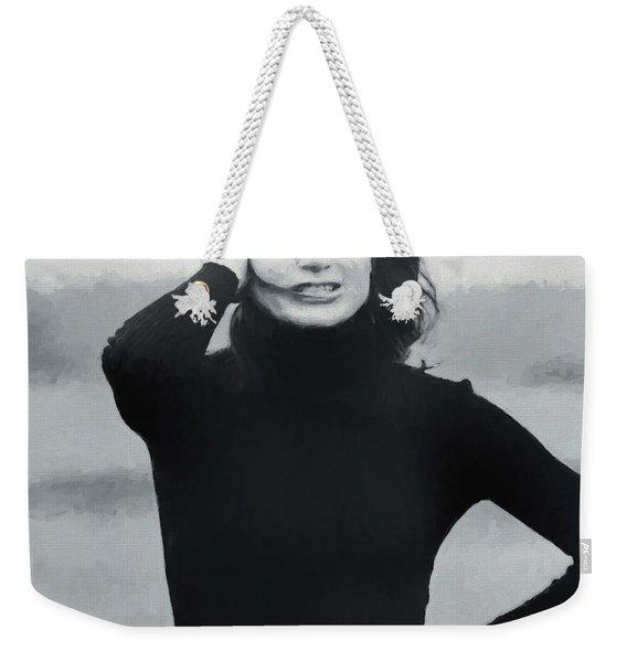 Jackie Kennedy - Painting Weekender Tote Bag
