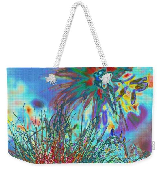 Jackson Pollok's Weeds  Weekender Tote Bag