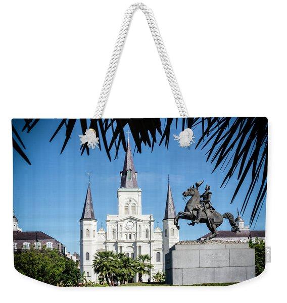 Jackson Square Weekender Tote Bag