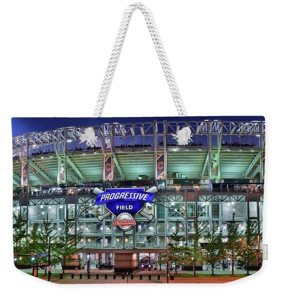 Jacobs Field Weekender Tote Bag