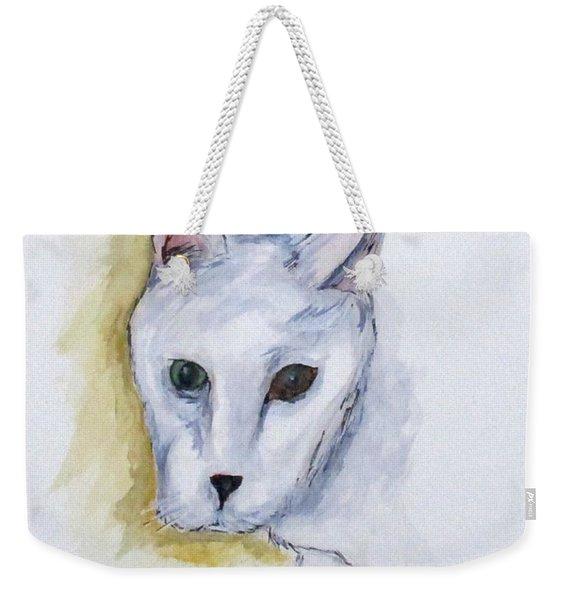 Jade The Cat Weekender Tote Bag