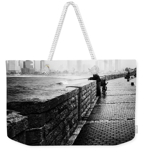 Jaffa Port Weekender Tote Bag