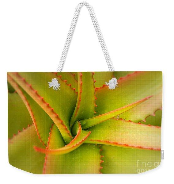 Jagged Aloe Weekender Tote Bag