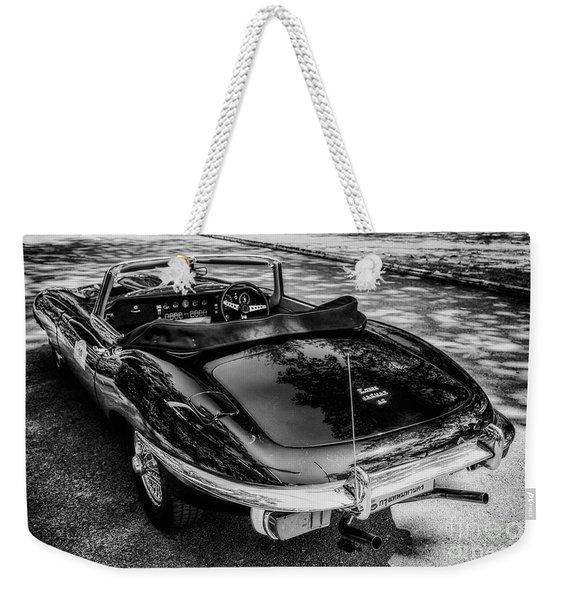 Jaguar E-type 4.2 Weekender Tote Bag