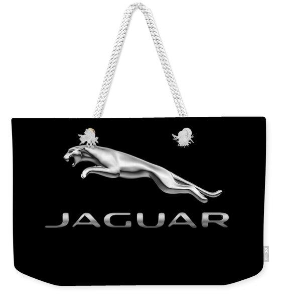Jaguar Logo Weekender Tote Bag