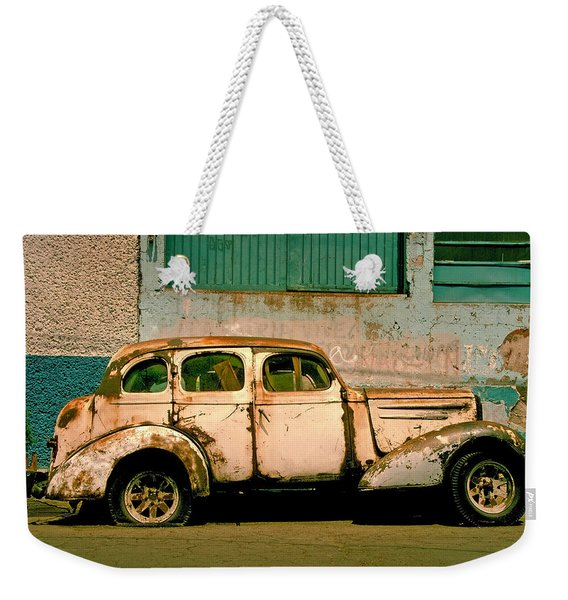 Jalopy Weekender Tote Bag
