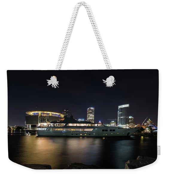 Jamaica Bay Weekender Tote Bag