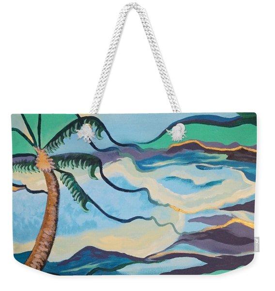 Jamaican Sea Breeze Weekender Tote Bag