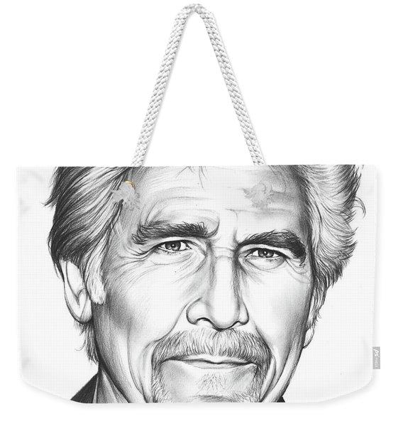 James Brolin Weekender Tote Bag