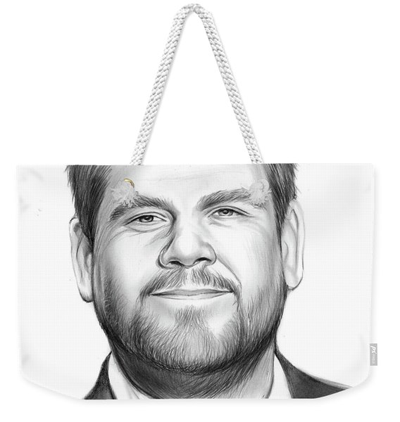 James Corden Weekender Tote Bag