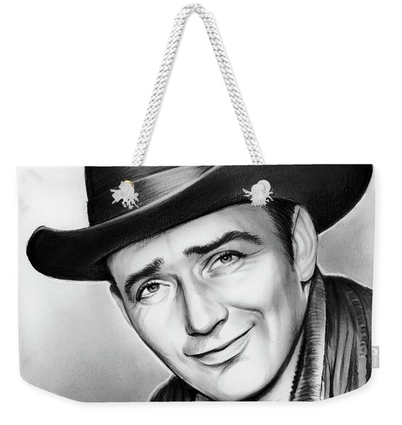 James Drury Weekender Tote Bag