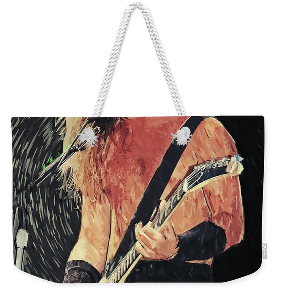 James Hetfield Weekender Tote Bag