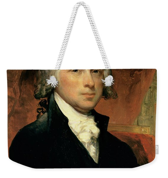James Madison Weekender Tote Bag
