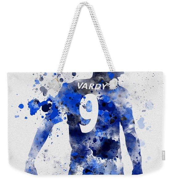 Jamie Vardy Weekender Tote Bag