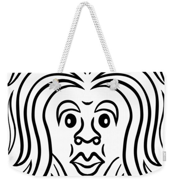 Jamilah Weekender Tote Bag