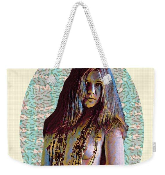 Janis Weekender Tote Bag