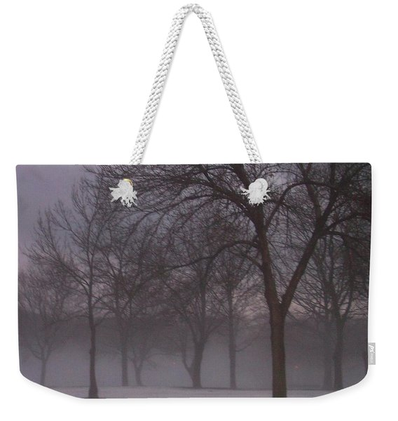 January Fog 4 Weekender Tote Bag