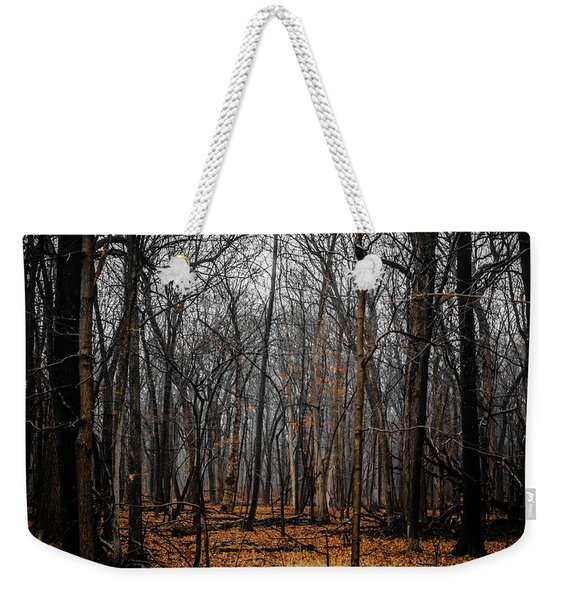 January Forest Rains Weekender Tote Bag