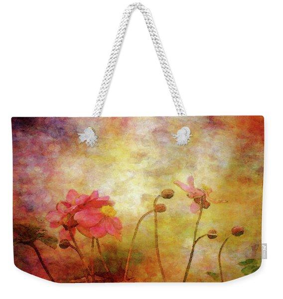 Japanese Anemone Landscape 3959 Idp_2 Weekender Tote Bag