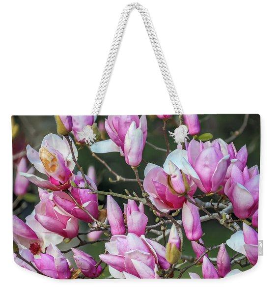Japanese Blooms Weekender Tote Bag