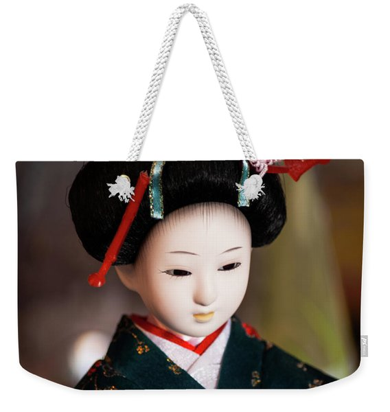 Japanese Doll Weekender Tote Bag