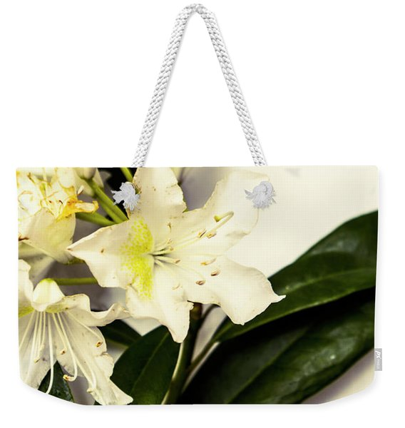 Japanese Flower Art Weekender Tote Bag
