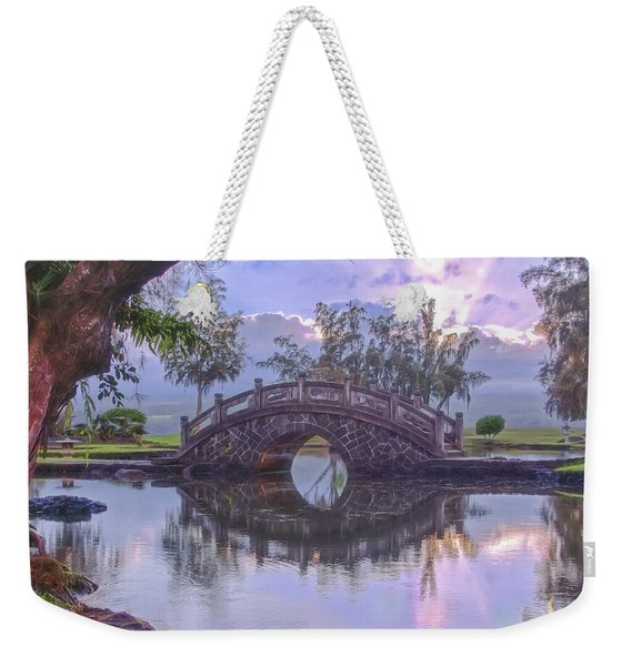 Japanese Footbridge Weekender Tote Bag