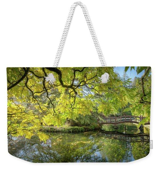 Japanese Gardens, Victoria Weekender Tote Bag