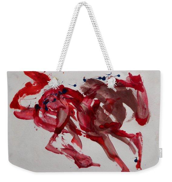Japanese Horse Weekender Tote Bag