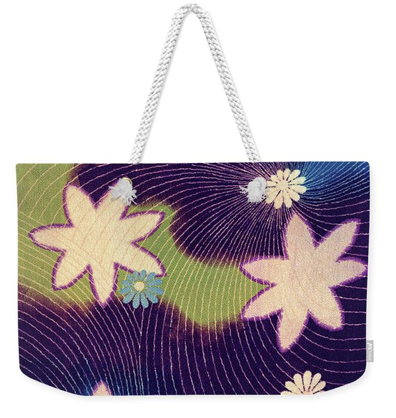 Japanese Maple Modern Interior Art Painting. Weekender Tote Bag