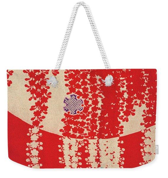 Japanese Style Wisteria Flowerss Art Painting. Weekender Tote Bag