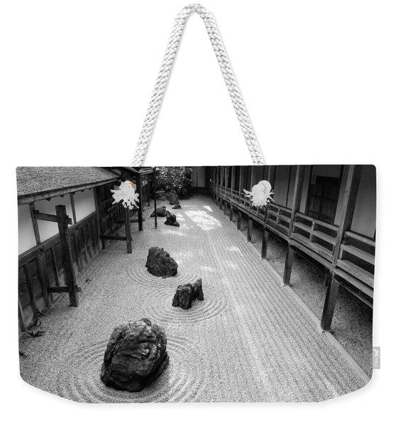 Japanese Zen Garden Weekender Tote Bag