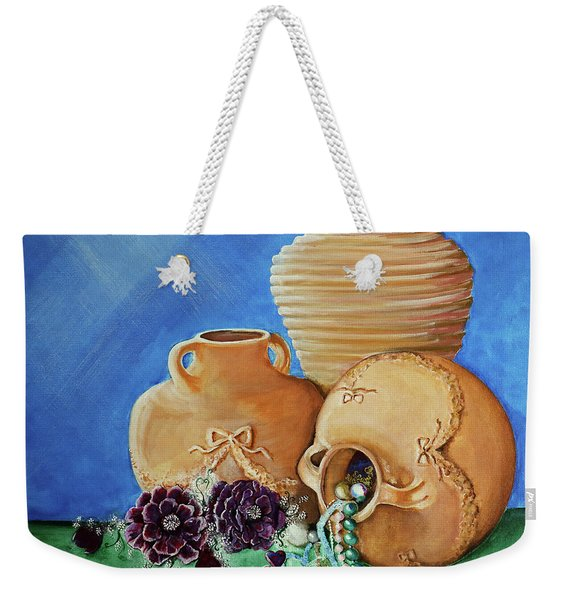 Jars And Gems Weekender Tote Bag