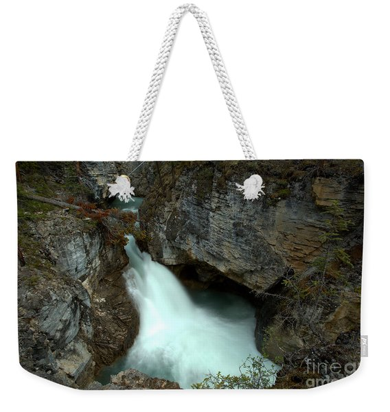 Jasper Beauty Creek Waterfall Canyon Weekender Tote Bag