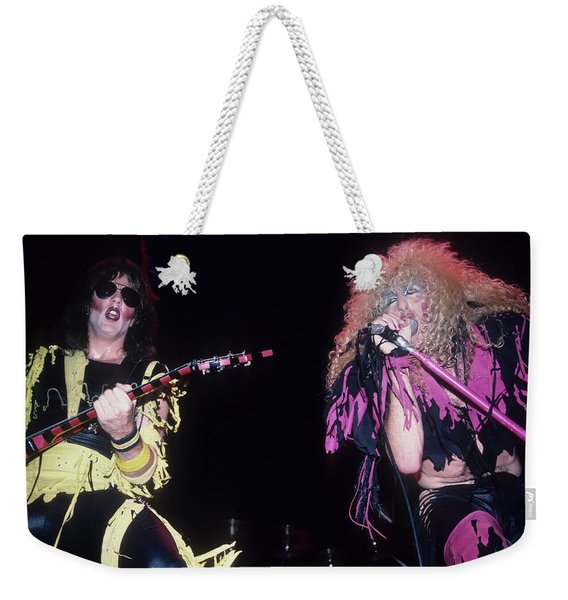 Jay Jay French And Dee Snider Weekender Tote Bag