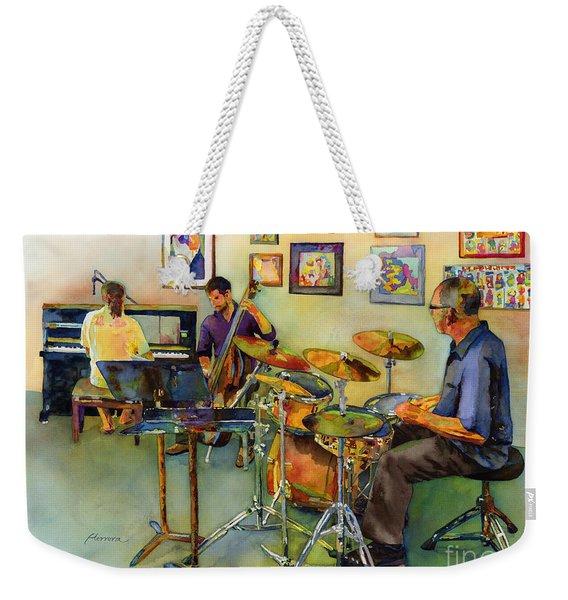 Jazz At The Gallery Weekender Tote Bag