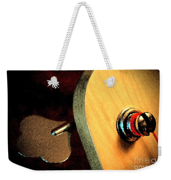 Jazz Bass Tuner Weekender Tote Bag
