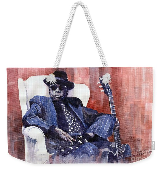 Jazz Bluesman John Lee Hooker 02 Weekender Tote Bag